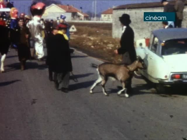 Carnaval 1965 à Chevannes