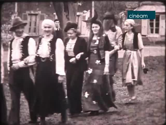 Carnaval 1948 à Saint-Escobille