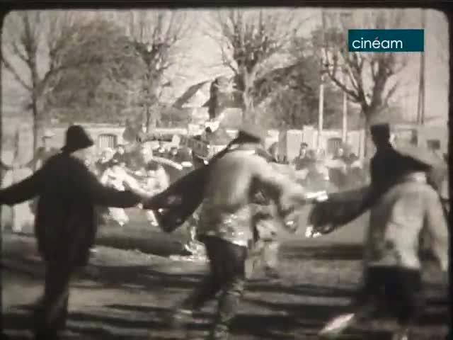 Carnaval 1949 à Saint-Escobille